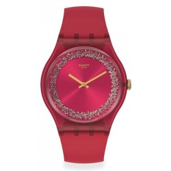 Reloj Swatch Mujer New Gent Ruby Rings SUOP111