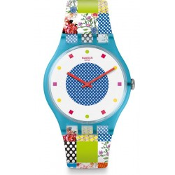 Reloj Swatch Mujer New Gent Quilted Time SUOS108