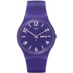 Reloj Swatch Unisex New Gent Backup Purple SUOV703