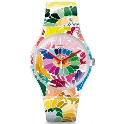 Reloj Swatch Mujer New Gent Flowerfool SUOW126