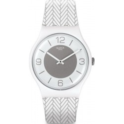 Reloj Swatch Unisex New Gent White Glove SUOW131