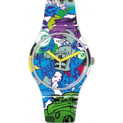 Reloj Swatch Unisex New Gent Wall Paint SUOW133