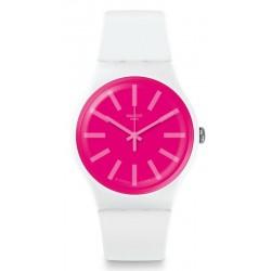 Comprar Reloj Swatch Unisex New Gent Strawbeon SUOW162