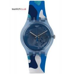 Reloj Swatch Club Unisex New Gent Silverscape SUOZ215