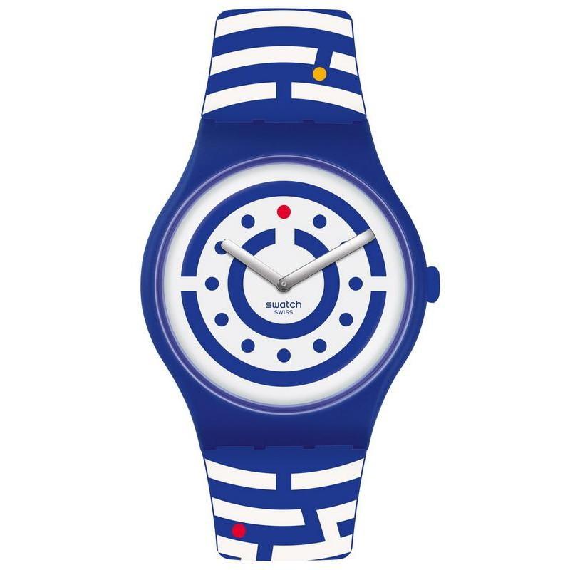Follow The Suoz279 Reloj New Unisex Dots Gent Club Swatch JF3c1TlK