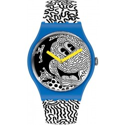 Comprar Reloj Mickey Mouse Swatch Eclectic Mickey SUOZ336