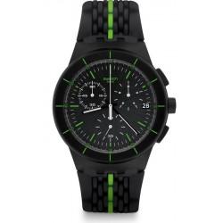 Comprar Reloj Swatch Hombre Chrono Plastic Laser Track SUSB409