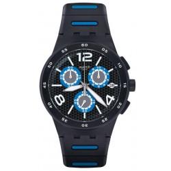 Comprar Reloj Swatch Hombre Chrono Plastic Black Spy SUSB410