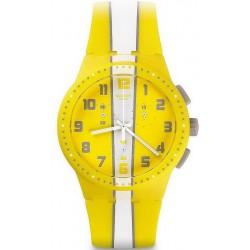 Reloj Swatch Unisex Chrono Plastic Amorgos SUSJ100