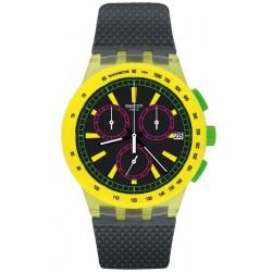Reloj Swatch Unisex Chrono Plastic Yel-Lol SUSJ402