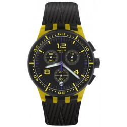Reloj Swatch Unisex Chrono Plastic Yellow Tire SUSJ403