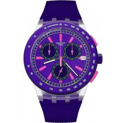 Comprar Reloj Swatch Unisex Chrono Plastic Purp-Lol SUSK400