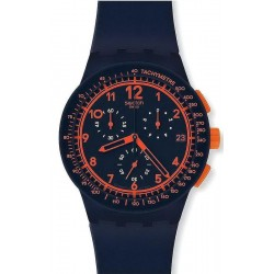 Reloj Swatch Unisex Chrono Plastic Rebirth Blue SUSN401