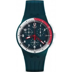Comprar Reloj Swatch Hombre Chrono Plastic El Comandante SUSN405