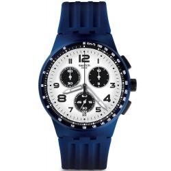 Reloj Swatch Hombre Chrono Plastic Travel Choc SUSN408