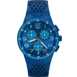 Comprar Reloj Swatch Unisex Chrono Plastic Triple Blu SUSN415