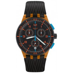 Reloj Swatch Unisex Chrono Plastic Orange Tire SUSO401