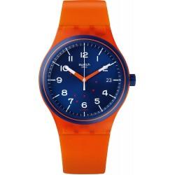 Reloj Swatch Unisex Sistem51 Sistem Tangerine Automático SUTO401