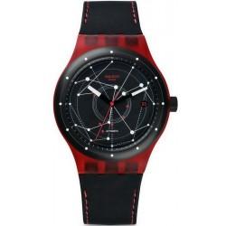 Reloj Swatch Unisex Sistem51 Sistem Red Automático SUTR400