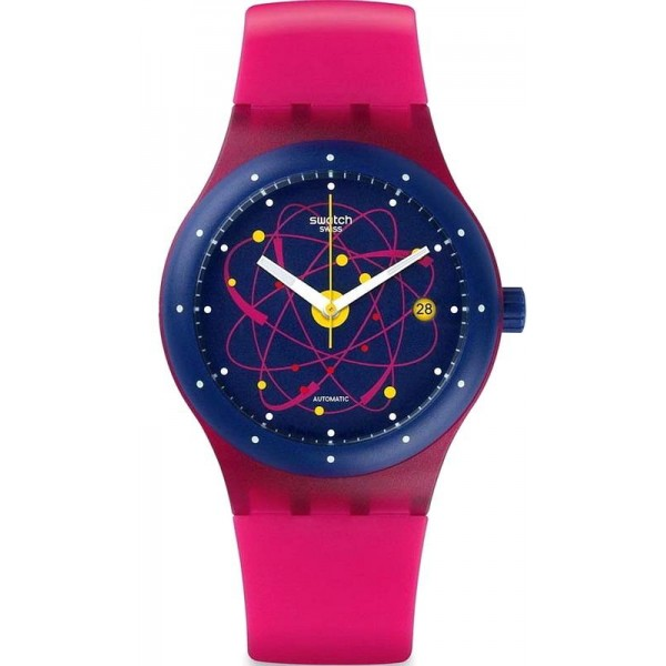 Comprar Reloj Swatch Unisex Sistem51 Sistem Pink Automático SUTR401