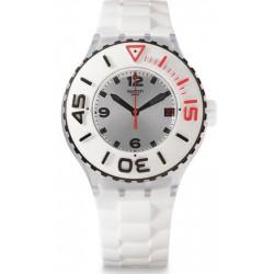 Reloj Swatch Unisex Scuba Libre Blanca SUUK401