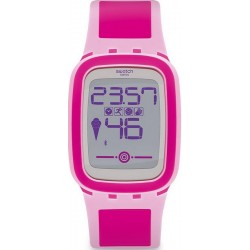 Reloj Swatch Mujer Digital Touch Zero One Pinkzero SUVP100