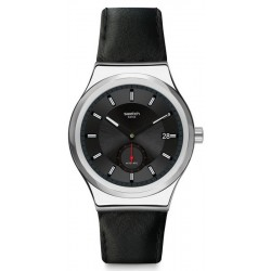 Reloj Swatch Hombre Irony Sistem51 Petite Seconde Black Automático SY23S400