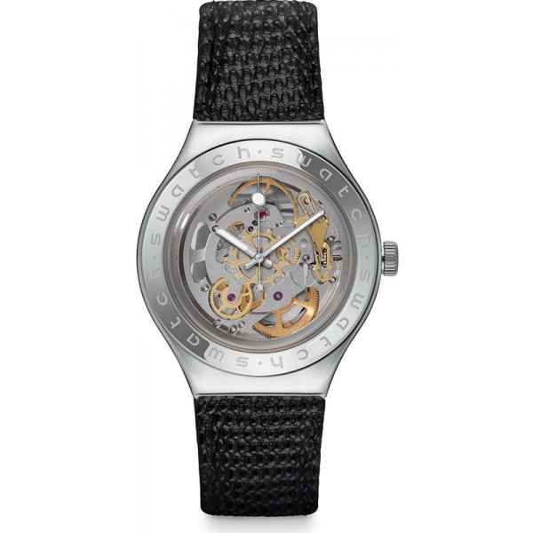Comprar Reloj Swatch Hombre Irony Automatic Body & Soul Leather YAS100D