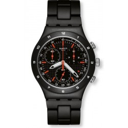 Reloj Swatch Hombre Irony Chrono Black Coat YCB4019AG