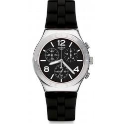 Reloj Swatch Hombre Irony Chrono Noir De Bienne YCS116