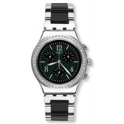 Reloj Swatch Unisex Irony Chrono Made In Black YCS118G