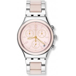 Reloj Swatch Mujer Irony Chrono Dreamnight Rose YCS588G