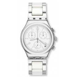 Reloj Swatch Mujer Irony Chrono Snow Dream YCS603G