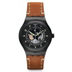 Reloj Swatch Hombre Irony Sistem51 Sistem Thought Automático YIB402