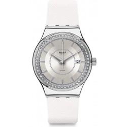 Reloj Swatch Mujer Irony Sistem51 Sistem Snow Automático YIS406
