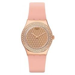 Reloj Swatch Mujer Irony Medium Pink Confusion YLG140