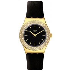 Reloj Swatch Mujer Irony Medium Goldy Show YLG141