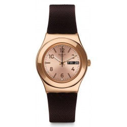 Reloj Swatch Mujer Irony Medium Brownee YLG701