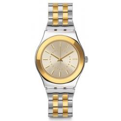 Reloj Swatch Mujer Irony Medium Goldensilver YLS207G