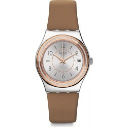 Reloj Swatch Mujer Irony Medium Caresse d'Été YLS458