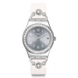 Reloj Swatch Mujer Irony Medium Pretty In White YLS463