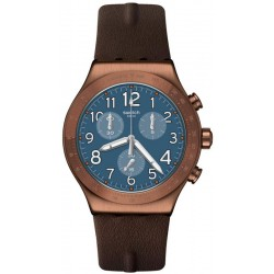 Reloj Swatch Hombre Irony Chrono Back To Copper YVC100