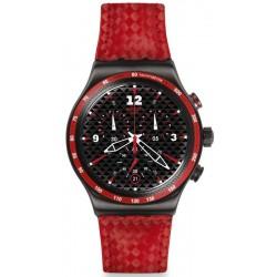 Reloj Swatch Hombre Irony Chrono Rosso Fuoco YVM401