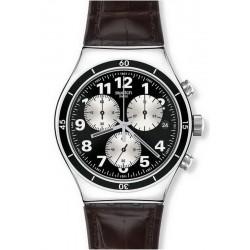 Reloj Swatch Hombre Irony Chrono Browned YVS400