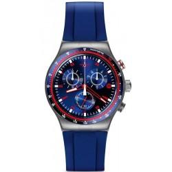 Reloj Swatch Hombre Irony Chrono Hookup YVS417