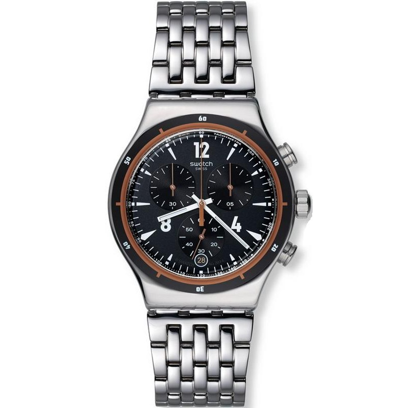 b7935d8e00db Reloj Swatch Hombre Irony Chrono Destination Madrid YVS419G ...