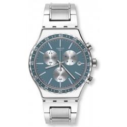 Reloj Swatch Unisex Irony Chrono Ironfreeze YVS438G