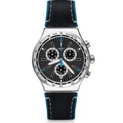 Comprar Reloj Swatch Hombre Irony Chrono Blue Details YVS442