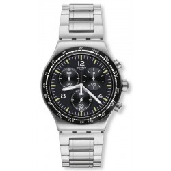 Reloj Swatch Hombre Irony Chrono Night Flight YVS444G