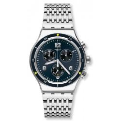 Reloj Swatch Hombre Irony Chrono Meshme YVS457G